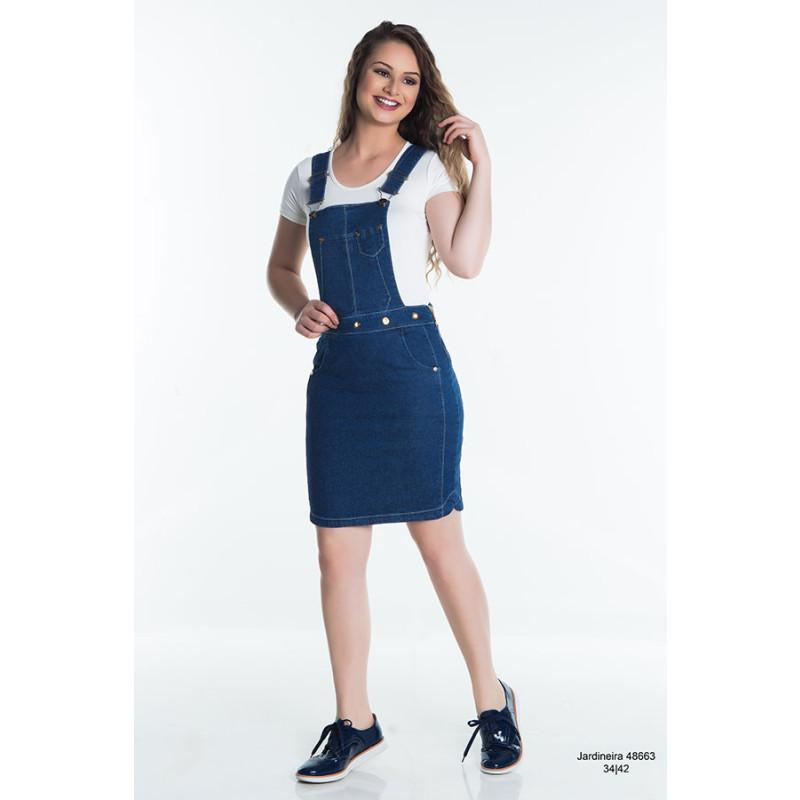 9d4d02566 ... Jardineira Hapuk Jeans 48663 Primavera Verão 2018. Passe ...