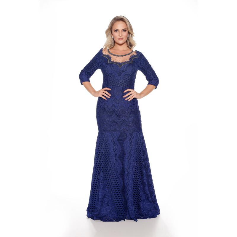 c42fb13776 Vestido longo renda azul fascinius jpg 800x800 Vestidos renda azul