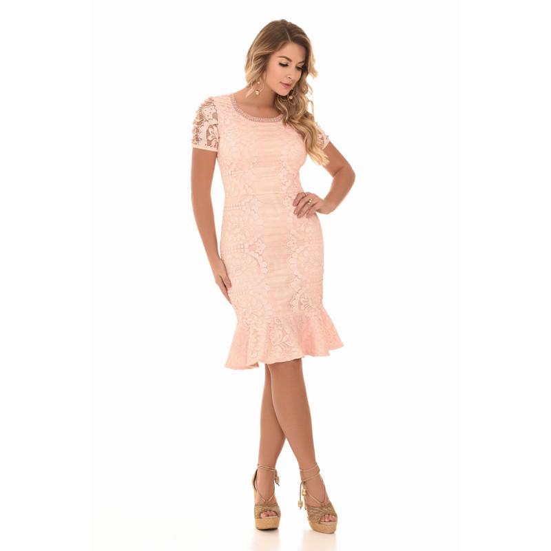 Vestido-Princess-Rose-Fasciniu s-Estrela-Evangélica ff72bb8837