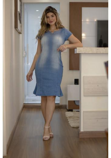 Vestido-Jeans-Recorte-Clara-Rosa-estrela-evangelica