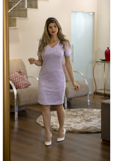 Vestido-Renda-Vivos-Clara-Rosa-estrela-evangélica