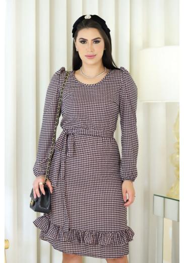 Vestido Talita Com Forro Outono/ Inverno 2021