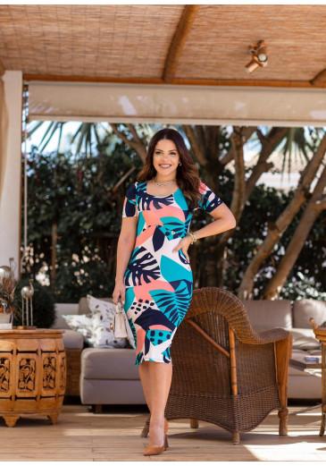 Vestido Tubinho Fernanda Verde Boutique K Primavera/ Verão 2022