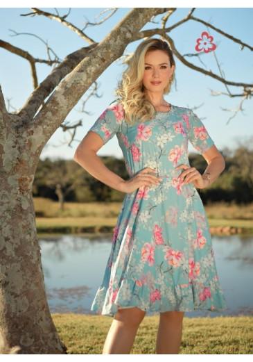 Vestido Laisa Floral Maria Amore Primavera/Verão 2022