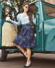 Camisa Amarração Azul Via Tolentino