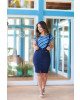 Salopete Bengaline Azul-Marinho Boutique K