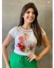 T-shirt Chapéu Vermelho Victoria's Princess