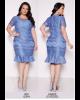 Vestido em Renda Azul Fasciniu's