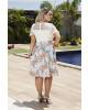 Vestido Estampa Floral Kauly