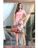 Vestido Estampado Floral Rosa Sol da Terra