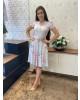 Vestido Godê com Cinto Maria Amore
