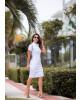 Vestido Jeans Branco Joyaly