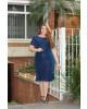 Vestido Renda Azul Kauly
