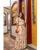 Vestido Longo com Fenda Caramelo Boutique k