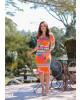 Vestido Summer Laranja Boutique K