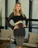 Vestido Tubinho Detalhe em Renda Maria Amore