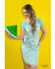 Vestido Hapuk Estampado Verde 59504