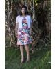 Vestido Puro Sharmy Estampa Floral 8257